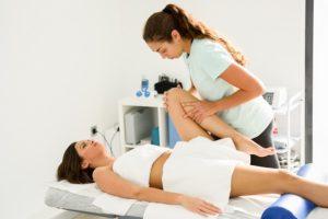 Fisioterapia: Mobiliario clínico y aceites